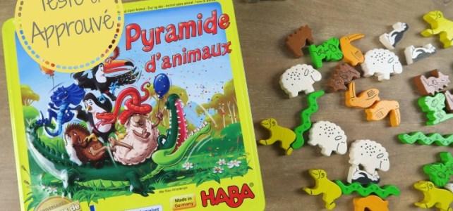 Un nouveau jeu à la maison : Pyramide d'animaux d'HABA