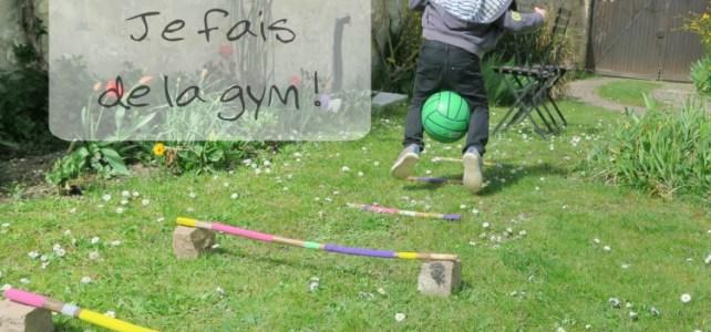 parcours gym avec ballon