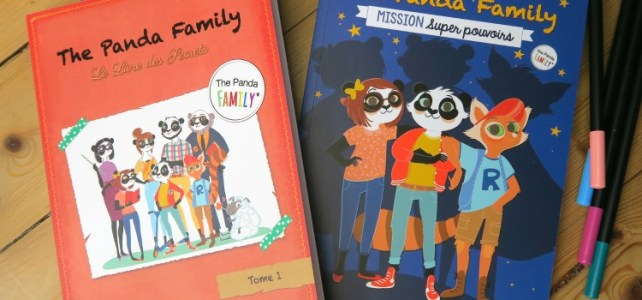 The Panda Family : La positive attitude faite livre