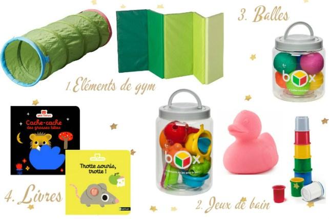 Jeux jouets indispensables pour Noël de bébé