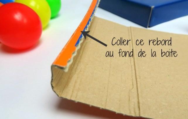 notice montage boite à forme permanence de l'objet DIY en carton