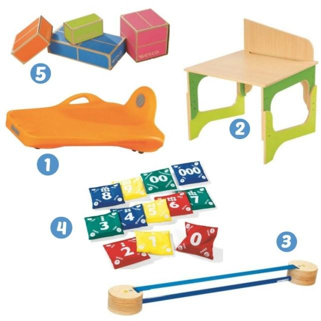 selection jouets wesco family enfant 6-7 ans