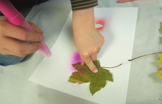 Blopen feuilles automne activité enfant
