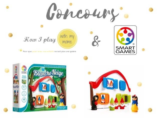 Concours How I play with my mome et Smart Games Blanche neige