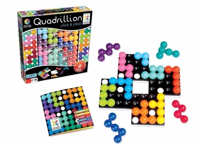 quadrillon casse tête smart games idée cadeau 7 ans et plus