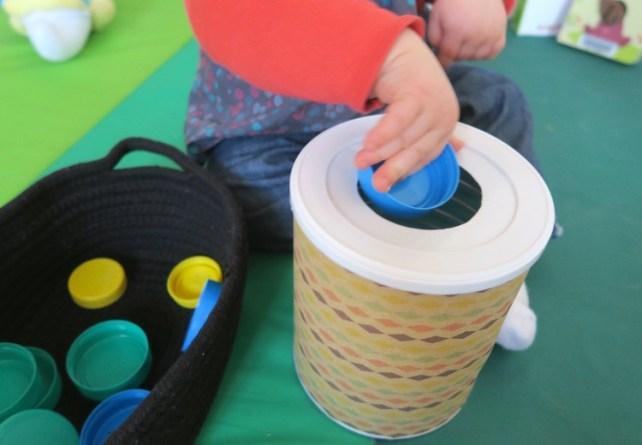 encastrement formes bébé jeu à fabriquer DIY 12 18 mois