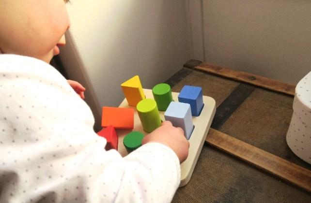 premiers puzzles bebe formes en volume Lidl 18 mois
