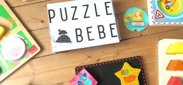 Les premiers puzzles de mon bébé [ 15-18 mois]