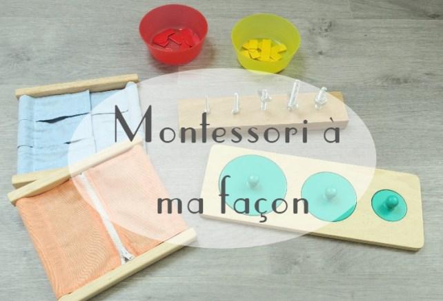 Montessori pour les nuls et à ma facon