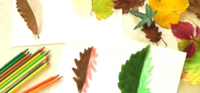 Les feuilles d'automne à compléter [Activité d'automne #4]