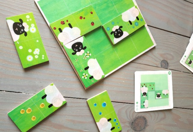 Détails jeu du sheep logic règles du jeu Djeco