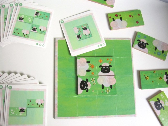 Règles du jeu sheep logic de Djeco