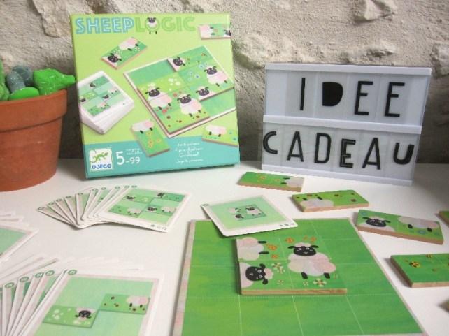 Sheep logic Djeco idée cadeau enfant 6 ans