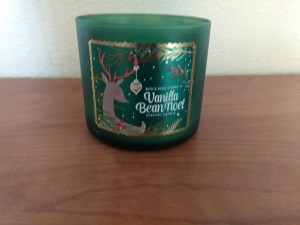 Candle Vanilla Bean Noel