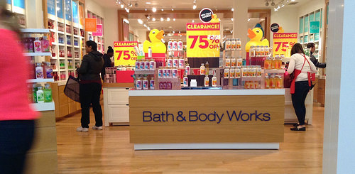 bath and body works photo