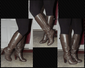 Boots with Leggings!