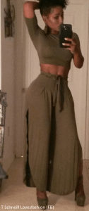 Maxi skirt with a twist!