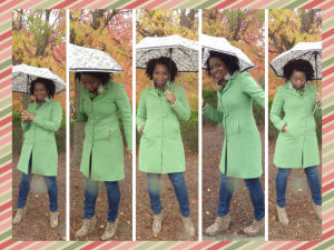 J Crew Kelly Green Wool Coat