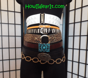 How To Wear Womens Belts How I Wear It