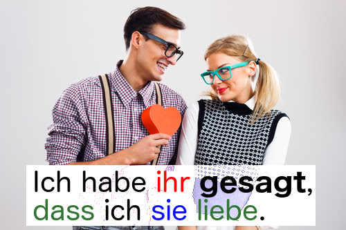 sagen (to say)