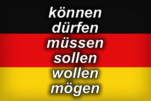 German modal verbs