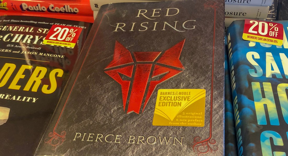 Red Rising Barnes & Noble Exclusive Edition
