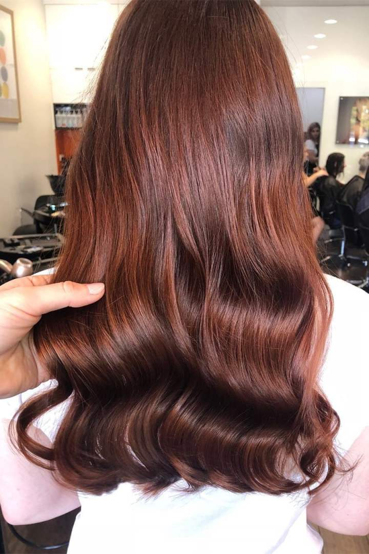 brown long hairstyles 01 - 35 charming brown long hairstyles in 2019