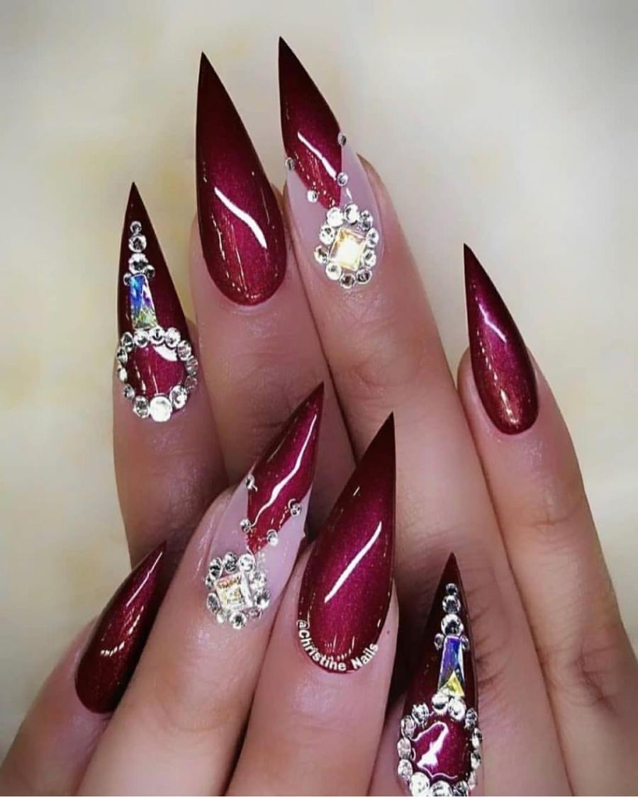 Stiletto Nails 18 - 20+ Amazing Stiletto Nails Ideas You Must To Try