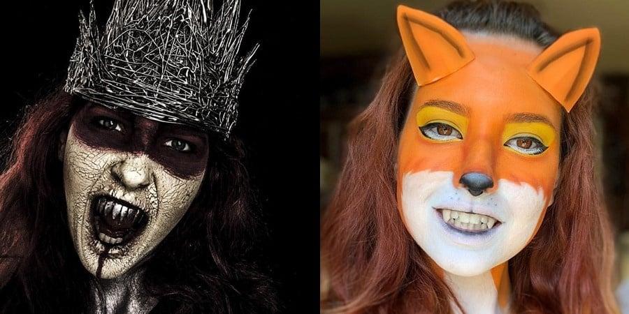 Halloween Makeup Ideas 091419 - 100+ Easy Halloween Makeup Inspiration 2019
