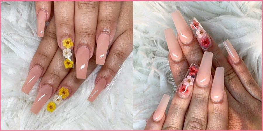 Trendy Coffin Nails 092319 - 40+ Trendy Coffin Nails Design Ideas You Will Heart