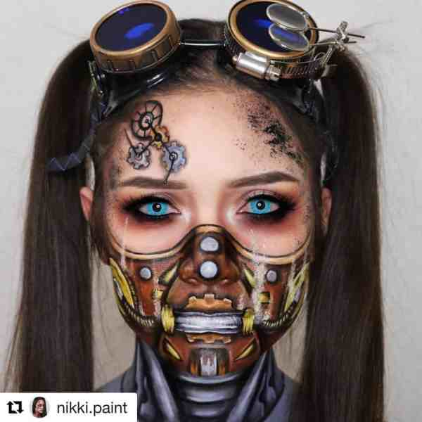 Halloween makeup looks 1018201920 - 90+ the Best Halloween Makeup Looks to Copy This Year