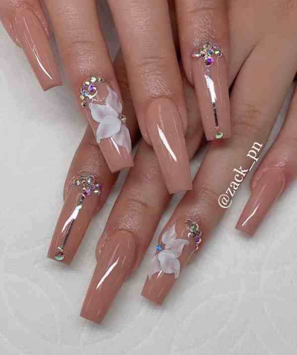 Coffin Nail 2019112723 - 50+ The Best Coffin Nail Designs