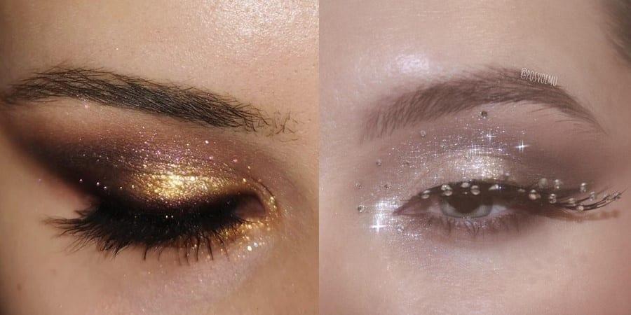 Glitter Eye Makeup 20191224 - 60+ Attractive and Beautiful Glitter Eye Makeup