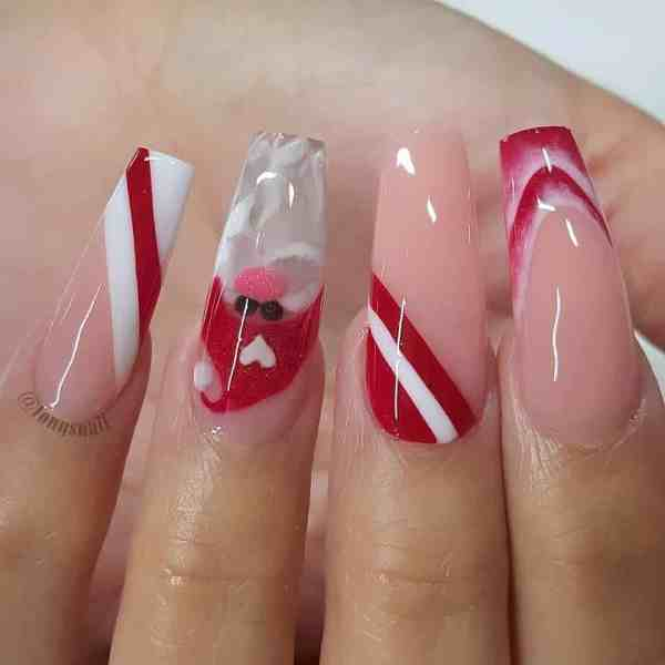 nails design 2019120405 - 40+ Beautiful Nails Design to Copy Right Now