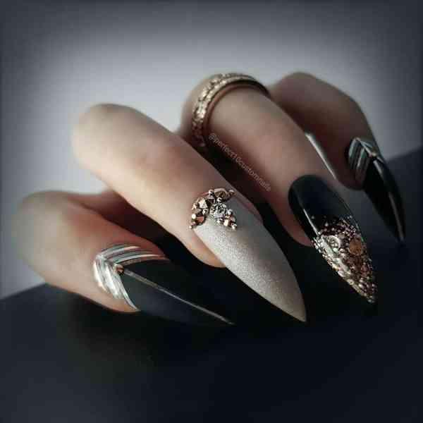 stiletto nails 2019121406 - 30+ Sharp Stiletto Nails Idea Very Cool