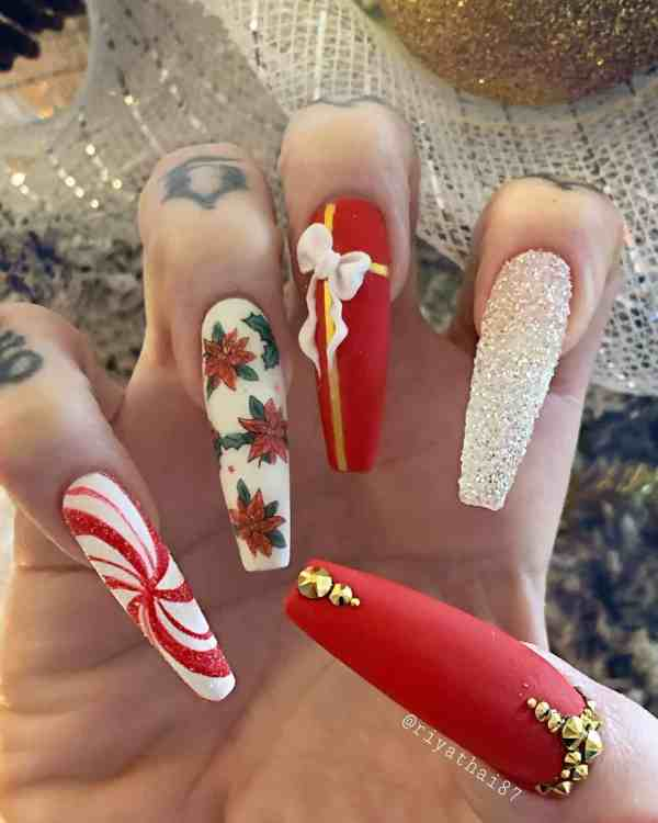 winter nails 2019122007 - 50+ Super Trendy Winter Nails to Look Excellent