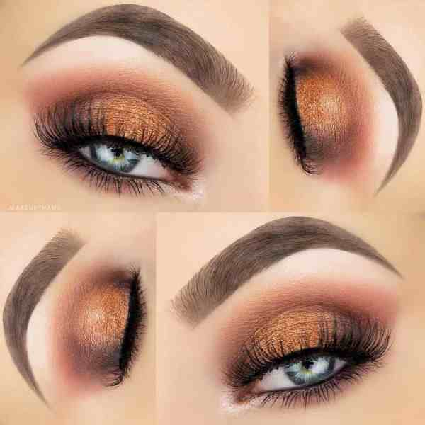 Eyes Makeup 2020013014 - 30+ Best Eyes Makeup and Lipstick Colors In Winter