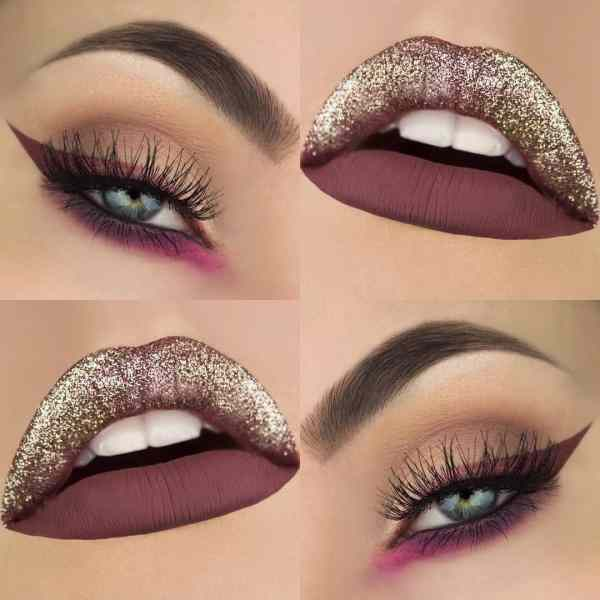 Eyes Makeup 2020013022 - 30+ Best Eyes Makeup and Lipstick Colors In Winter