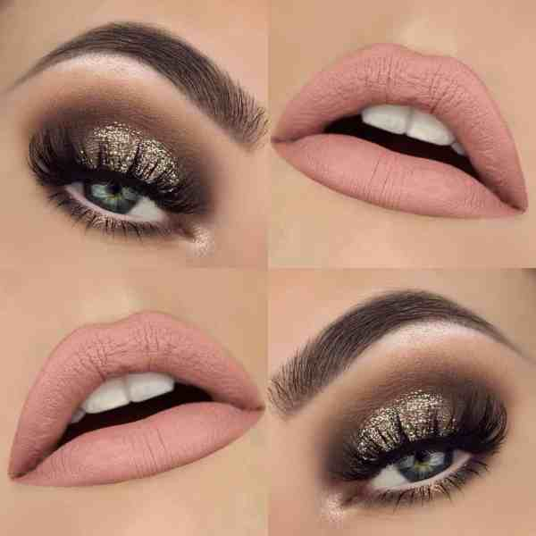 Eyes Makeup 2020013028 - 30+ Best Eyes Makeup and Lipstick Colors In Winter