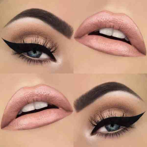 Eyes Makeup 2020013032 - 30+ Best Eyes Makeup and Lipstick Colors In Winter