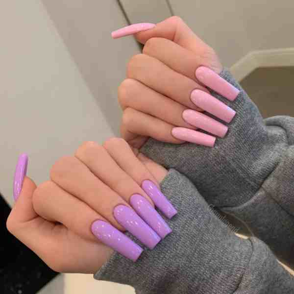 Winter Coffin Nail 2020011402 - 40+ Winter Coffin Nail Designs You Must Try