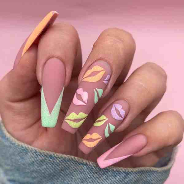 Winter Coffin Nail 2020011430 - 40+ Winter Coffin Nail Designs You Must Try