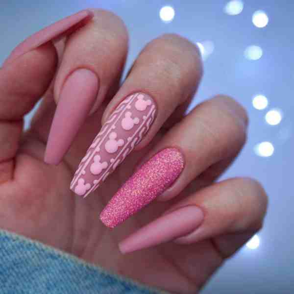 Winter Coffin Nail 2020011441 - 40+ Winter Coffin Nail Designs You Must Try