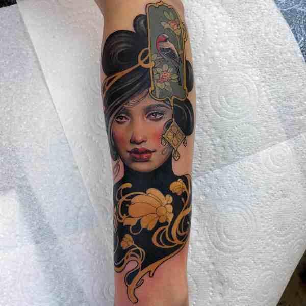 elegant tattoo 2020012621 - 60+ Elegant Tattoo Ideas Will Inspire Women