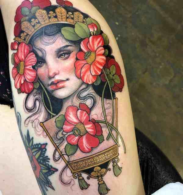 elegant tattoo 2020012635 - 60+ Elegant Tattoo Ideas Will Inspire Women