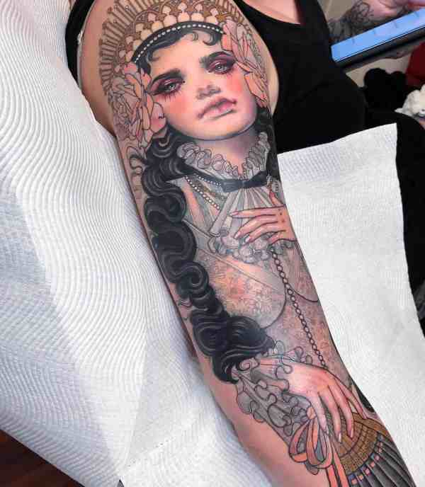 elegant tattoo 2020012648 - 60+ Elegant Tattoo Ideas Will Inspire Women