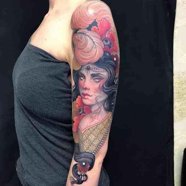 elegant tattoo 2020012674 - 60+ Elegant Tattoo Ideas Will Inspire Women