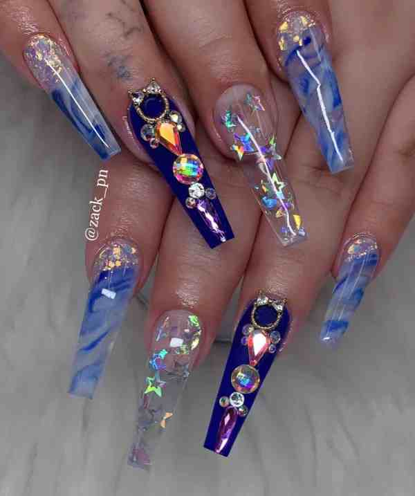long coffin nail 2020013123 - 80+ Charming Long Coffin Nail Designs in 2020