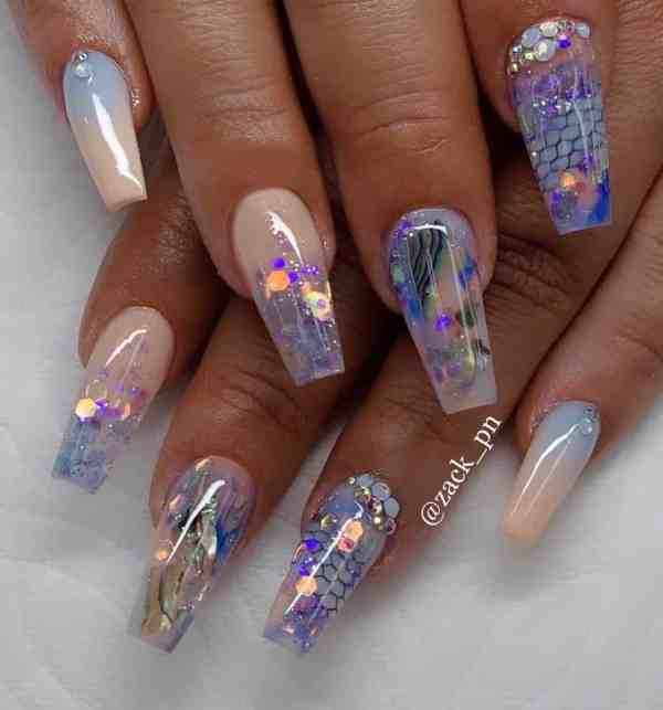 long coffin nail 2020013126 - 80+ Charming Long Coffin Nail Designs in 2020