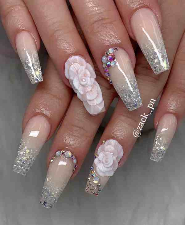 long coffin nail 2020013155 - 80+ Charming Long Coffin Nail Designs in 2020